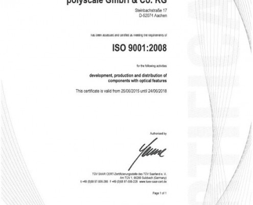 Iso-Certifikation